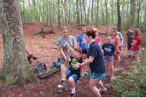 caring staff at windham tolland 4h camp