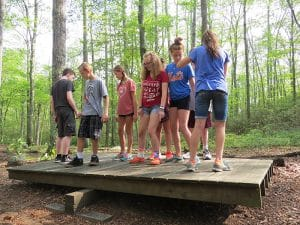 teamwork at windham tolland 4h camp