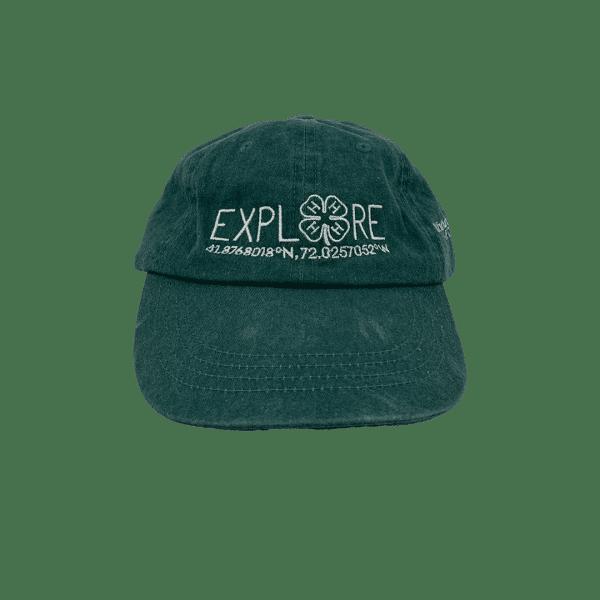 4h camp explore baseball cap